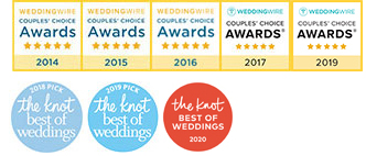 Events at Independence Grove has won Wedding Wire's Couples' Choice awards for 4 consecutive years in a row